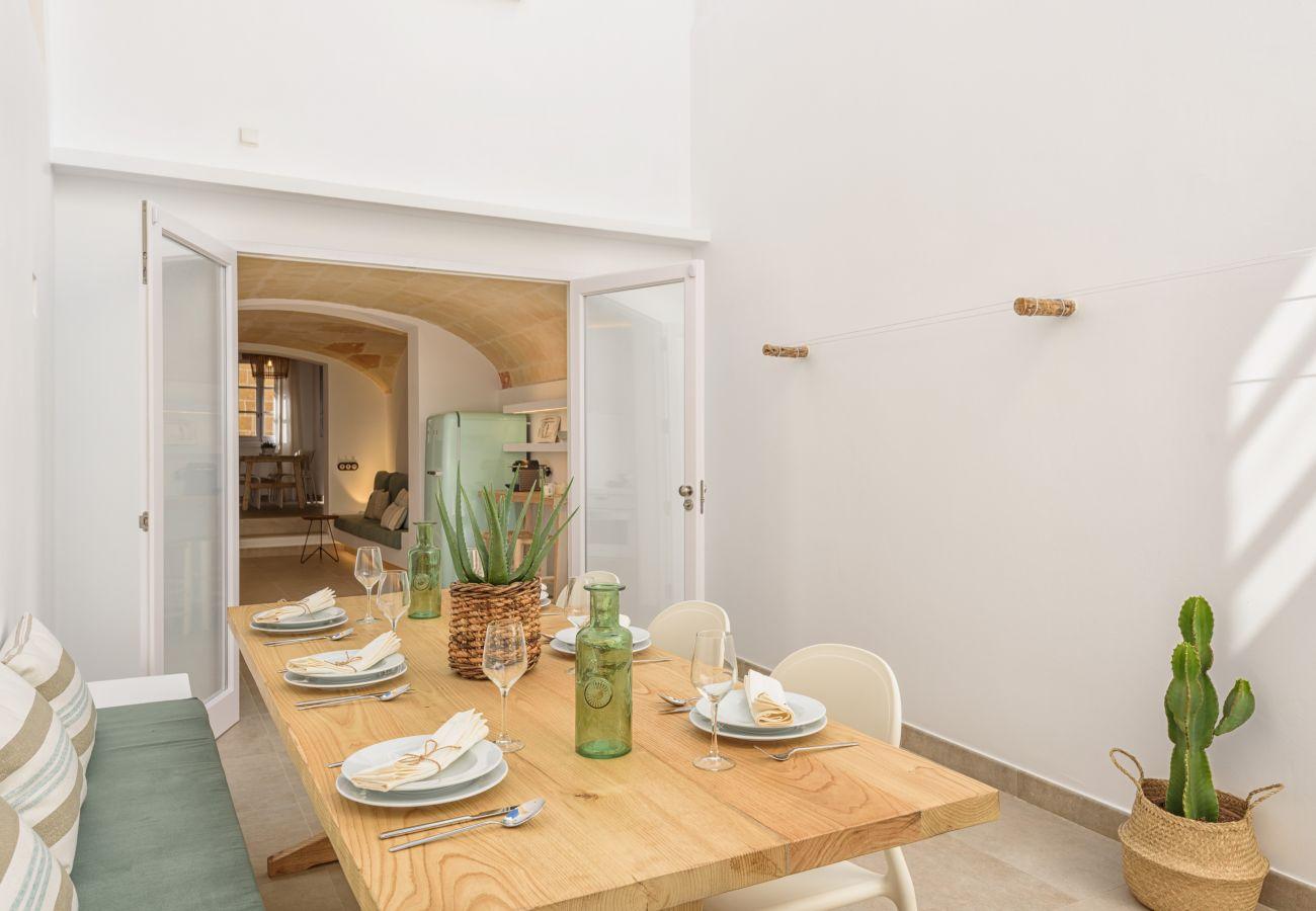 Ferienhaus in Ciutadella - Menorca SA FONT