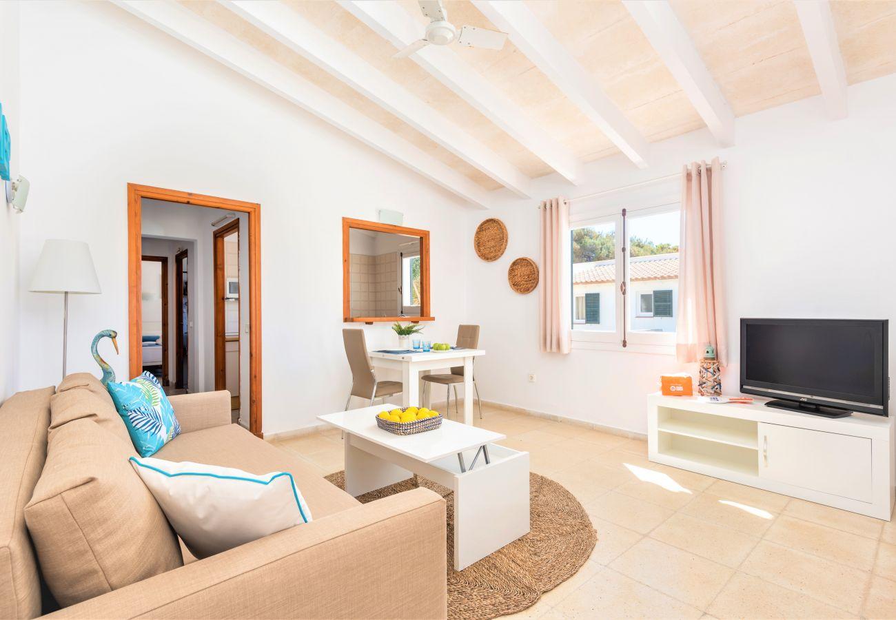 Ferienwohnung in Cala´n Blanes - Menorca-APTO H / C.BRUT