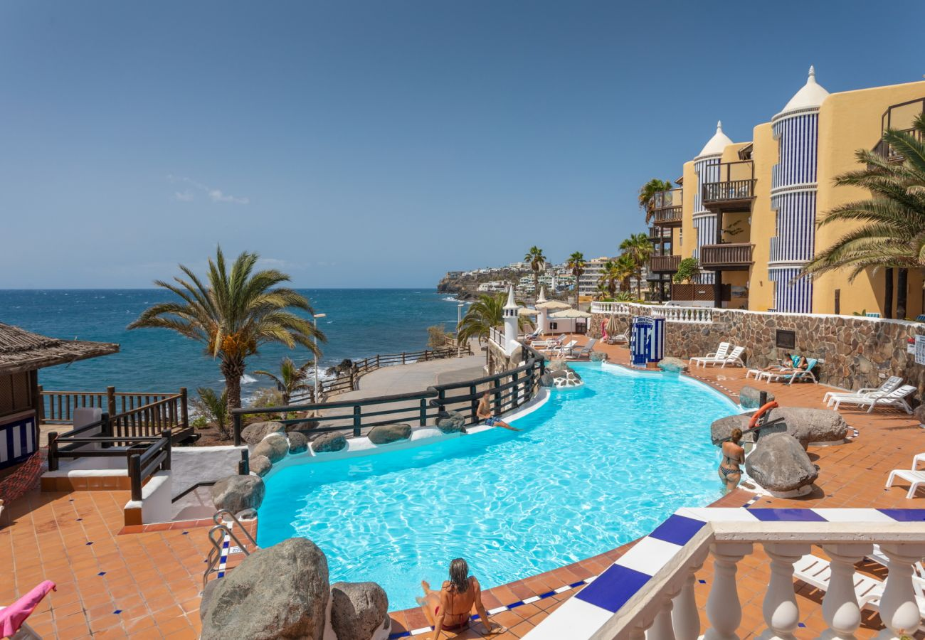 Ferienwohnung in San Bartolomé de Tirajana - Altamar 53 balcony sea views By CanariasGetaway