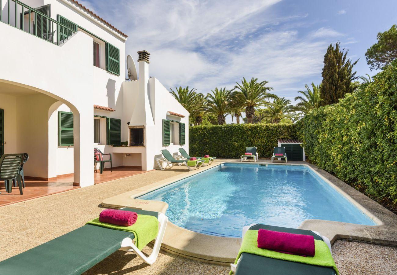 Villa in Cala´n Blanes - Menorca Juanita
