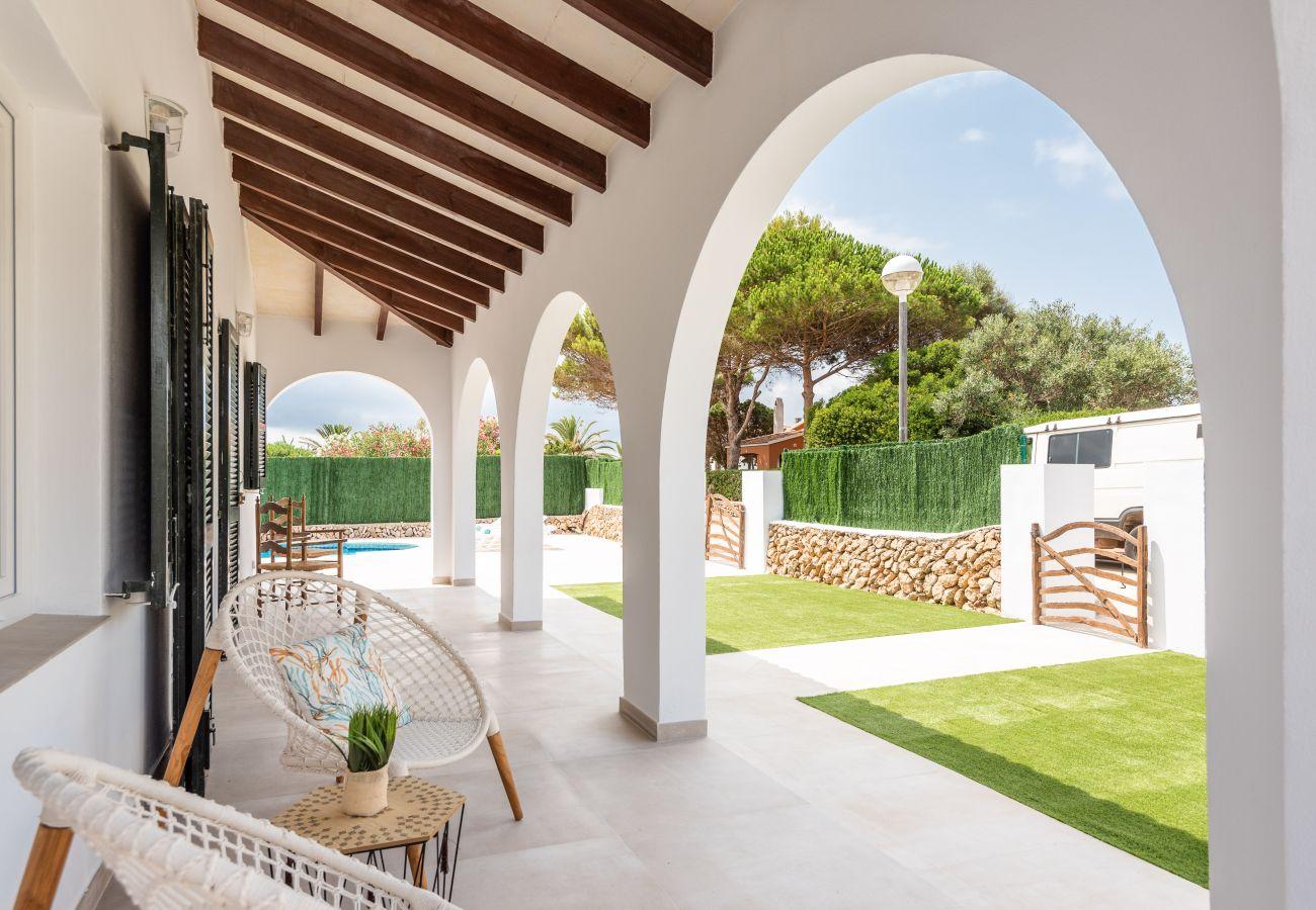 Villa in Cala´n Bosch - Menorca ROCAS